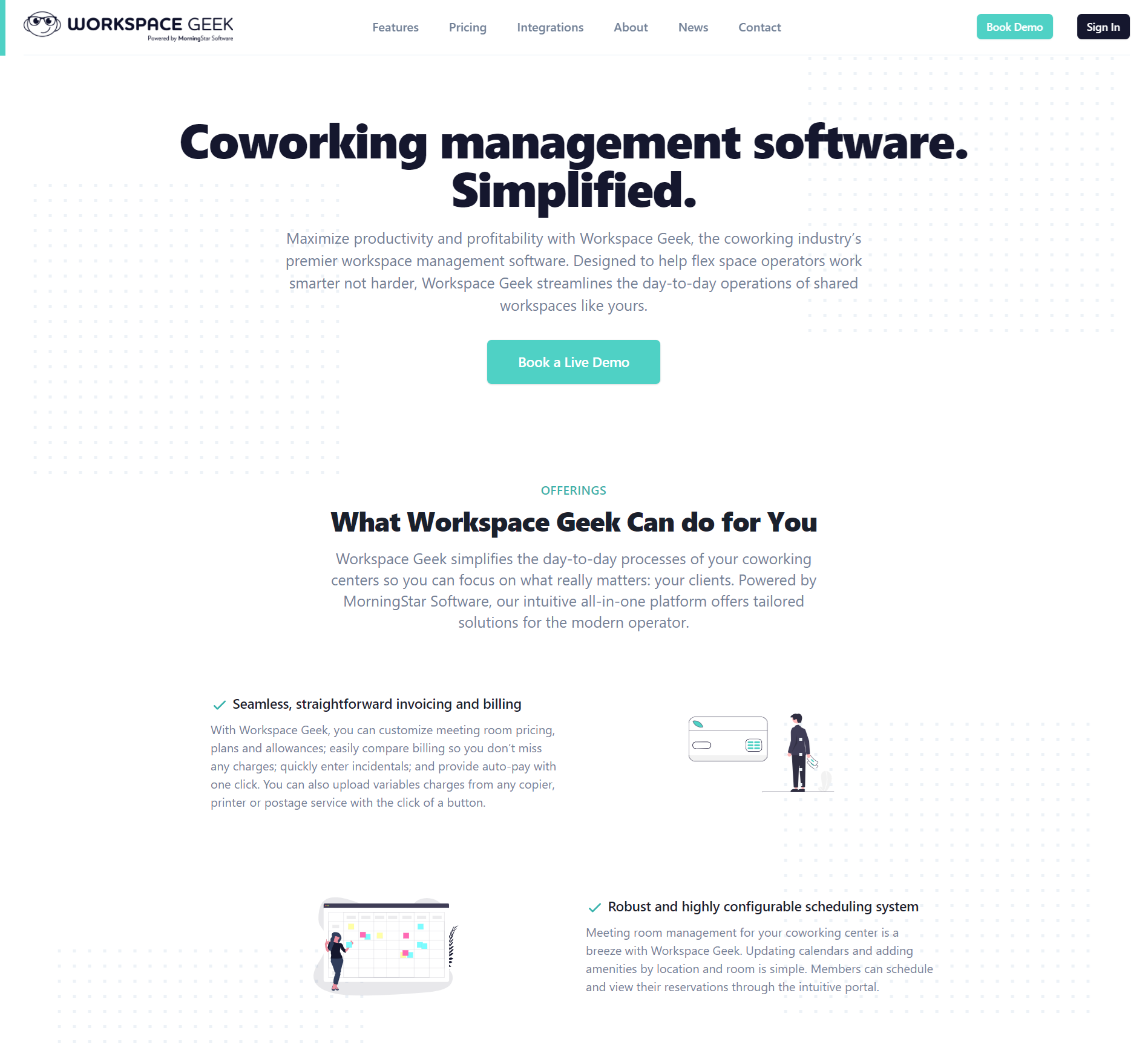 Workspace Geek website version 2